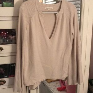 Beige Lovestitch sweater